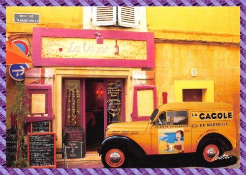 Carte Postale  AUBAGNE  1 rue de l'aumône vieille  restaurant La vigne