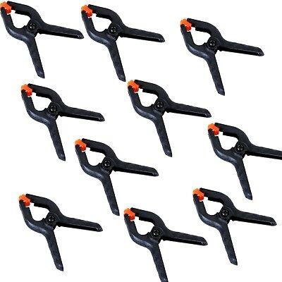 10x Foto Studio Licht Fotografie Hintergrund Clips Zangen Klammern orange