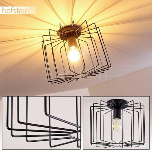 schwarze Decken Lampen Lichteffekt Flur Wohn Schlaf Zimmer Raum Leuchten Vintage