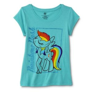 10//12 My Little Pony One of a Kind Girls/' Shirt Sequins Size L