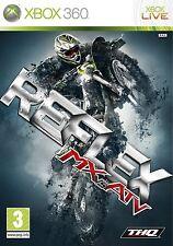 XBOX 360 gioco MX VS ATV REFLEX MOTO CROSS merce nuova *** RAR