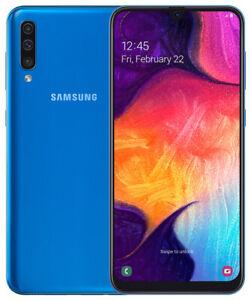 Samsung-Galaxy-A50-Dual-Sim-A505F-128GB-4GB-RAM-6-4-039-ITALIA-NUOVO-Android-Blue