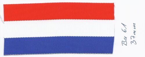 Ordensband Frankreich Medaille honneur Tricolore 37mm 0,5m ba61 1m9,80