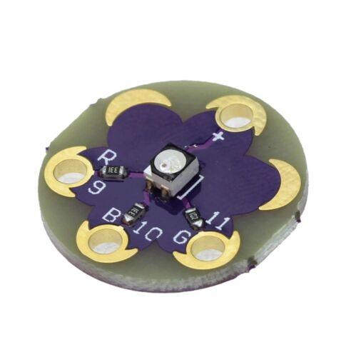 USA LilyPad Tri-Color LED RGB Module LilyPad LED Module Tri-color Module arduino