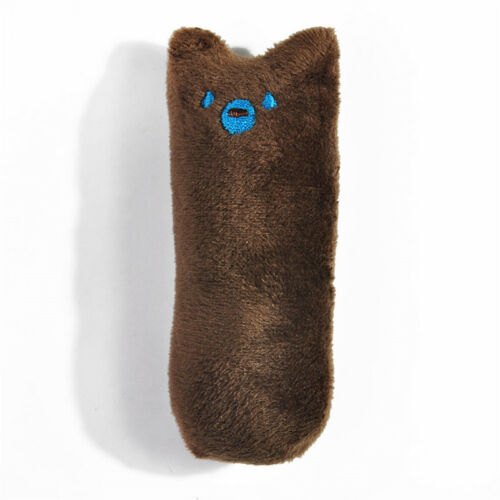 Cute Health Soft Pet Toys Thumb Gift For Cat Dog Cotton Catnip Plush Chewing Toy
