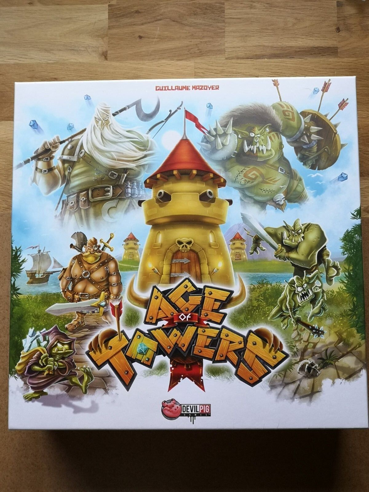 AGE OF TOWERS EN FRANCAIS NEUF   DEVIL PIG