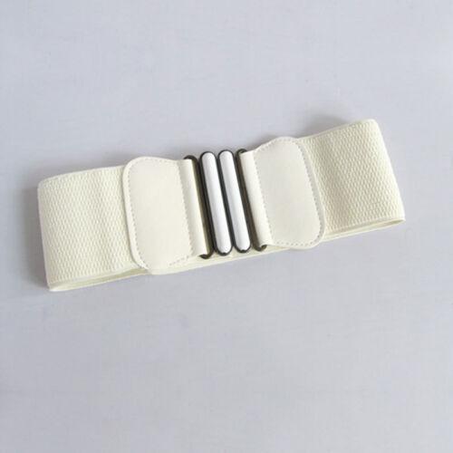 Damen Breiter Hüftgürtel elastischer Damen Gürtel Schleifen Taillengürtel