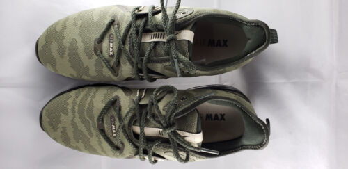 Nike Air Max Sequent 3 Brand New athletic Mens shoes camouflage//Olive green