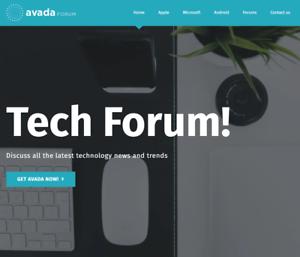Forum-Wordpress-Website-With-Demo-Content