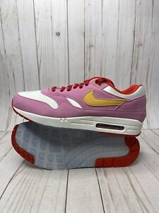 Nike Air Max 1 By You ID Mens Size 13 Pink Gold Yellow Red CN9671 ...