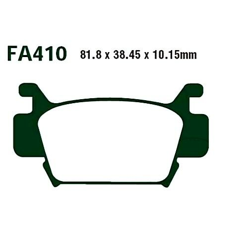 Brake Pads Standard EBC For Honda TRX 500 FA Fourtrax Foreman 2010