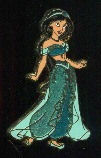 Princess Jasmine Glitter Dress Aladdin Disney Pin 93359 For Sale