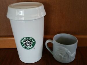 Image Is Loading Rare Promotional Starbucks Coffee Beans Canister Container Mermaid