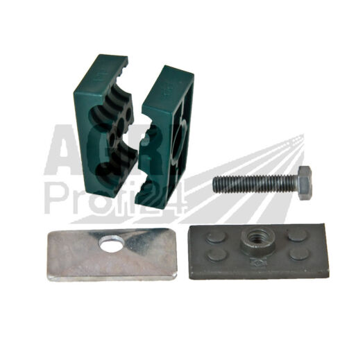 Hydraulik Doppel-Rohrschelle/_2x 18mm Hydraulikrohr/_Halter/_Uni/_/_/_/_/_/_/_/_/_/_/_/_/_/_/_/_/_/_/_