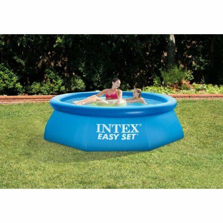 Intex 8 X 30 Easy Set Above Ground Swimming Pool With Filter Pump