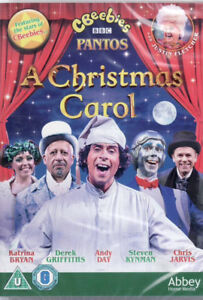 Cbeebies-Panto-A-Christmas-Carol-Brand-New-amp-Sealed