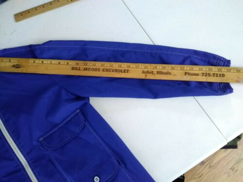 Stag Femmes Vintage Inv Lg Hip Manteau White complet Zip pour bleu s9162 4 poches TwHxq4q
