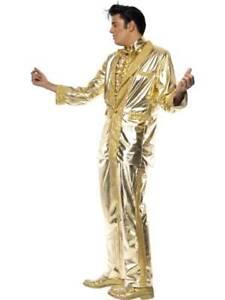 Image Is Loading Elvis Costume Presley Licensed Fancy Dress Music