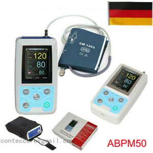 CONTEC Ambulantes Blutdruckmessgerät NIBP Holter 24h Software+Erwachsener,CE,FDA
