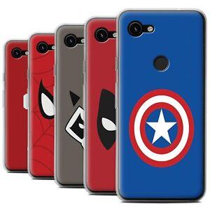 Gel-TPU-Case-for-Google-Pixel-3a-XL-Super-Hero-Comic-Art