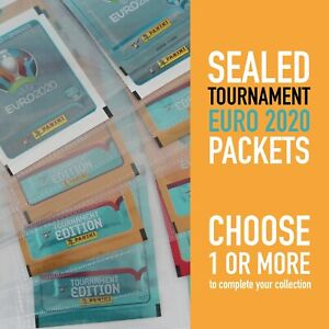 PANINI different sealed packets TOURNAMENT EURO 2020 EC 20 | choose your packet