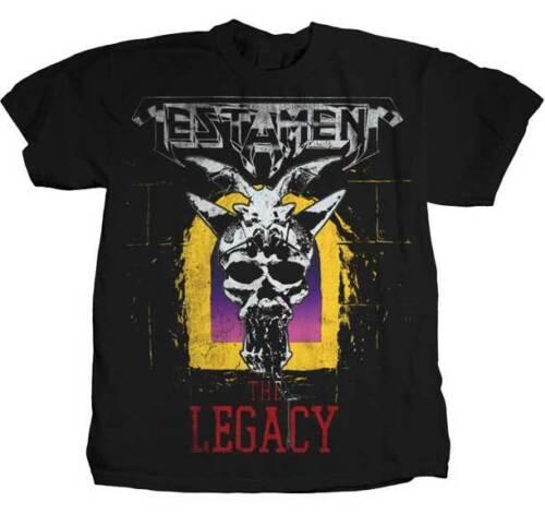 TESTAMENT The Legacy T SHIRT S-M-L-XL-2XL Brand New T Shirt
