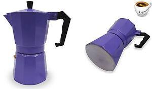 Espresso-Fourneau-Haut-Cafetiere-Continental-Moka-Percolateur-Pot-1-Tasse-Violet