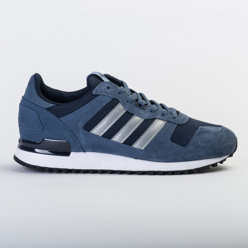 ADIDAS ORIGINALS MEN'S ZX 700 DARK blueE   GREY S80526 UNISEX TRAINERS   SNEAKERS