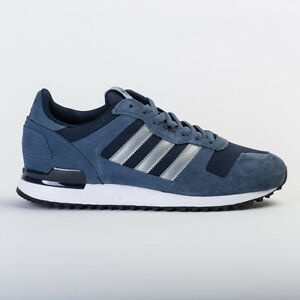 81f26a695 ADIDAS ORIGINALS MEN S ZX 700 DARK BLUE   GREY S80526 UNISEX ...