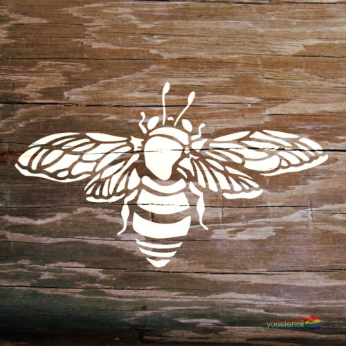 ST2 Walls and Furniture Bumble Bee Stencil for Art
