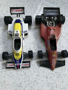 2 Burago F1 Voiture De Course Williams Fw08 Et Ferrari 126 04-afficher Le Titre D'origine