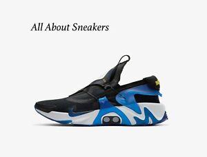 Nike-HUARACHE-Nero-ADAPT-RACER-BLU-MEN-039-S-Scarpe-da-ginnastica-LIMITED-STOCK-Tutte-le-Taglie