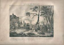 1827 BATAILLE DE FRIEDLAND Madou Napoleone Napoleon Pravdinsk Правдинск
