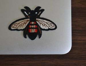 Gucci-Style-Bee-Iron-On-Applique-Embroidered-Patch-Fabric-Craft-Sew-Lot