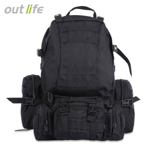 Outdoor 50L MOLLE Military Camping Hiking Backpack