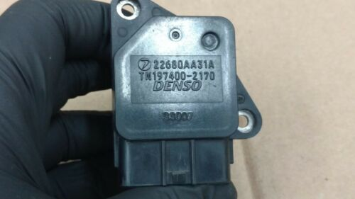 04-09 SUBARU LEGACY OUTBACK  MAF MASS AIR FLOW SENSOR METER OEM 22680AA31A