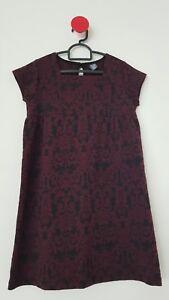 fdeeaadae Zara Girls Dress 11-12/152cm, Black & Maroon, Excellent Condition ...
