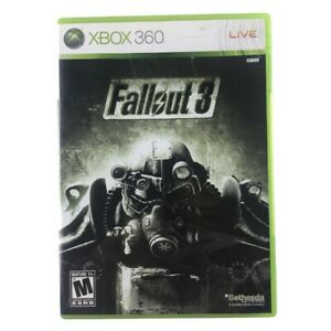 Fallout-3-Microsoft-Xbox-360-2008-Complete-w-Manual-CIB