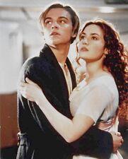 TITANIC: Leonardo DiCaprio & Kate Winslet - Color 8x10 Glossy Photo