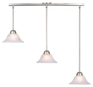 Details About Da Vinci 3l Mini Pendant Vaxcel Kitchen Island Lighting Brushed Nickel Pd5027bn