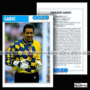 LADIC-DRAZEN-CROATIA-ZAGREB-Fiche-Football-Nogomet-1998