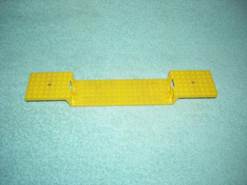 1 PEZZI COLORE GIALLO piastra di base//Piastra Base Piastra vagone 6x34 LEGO-ferrovia #4559