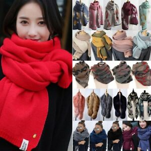c528a0c7f Image is loading Fashion-Women-039-s-Blanket-Scarf-Oversized-Scarves-