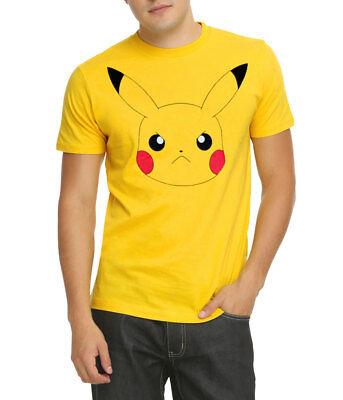 Kids Pikachu Face Pokemon Inspired T-shirt