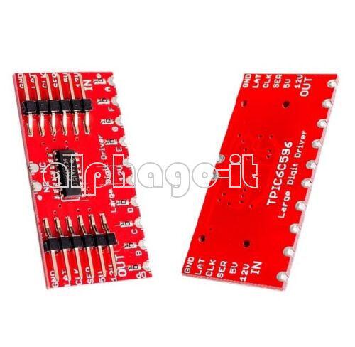 TPIC6C596 8-Digital Shift Register 7-Segment Displays Nixie Tube Module