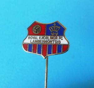 ROYAL EXCELSIOR FC LAMBERMONTOIS - Belgium football pin ...