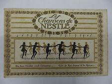Rarissime Les Chansons de Chocolat Nestlé Album publicitaire incomplet