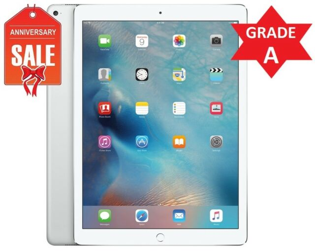 "Apple iPad 5th Gen 2017 128GB, Wi-Fi , 9.7"" - Silver (Latest Model) GRADE A (R)"