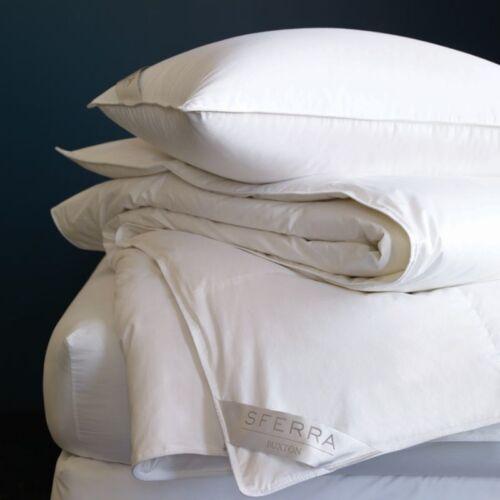 """Sferra Buxton Collection King Soft White Pillow 20 x 36/"""""""