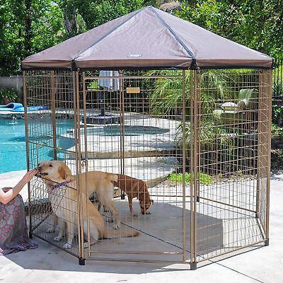 Advantek  Pet Gazebo 4 Foot Low Profile Kennel